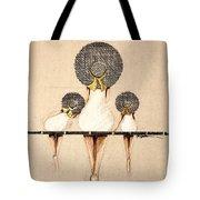 Three Ladies On A Dock  Tote Bag