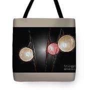 Three Lanterns Tote Bag