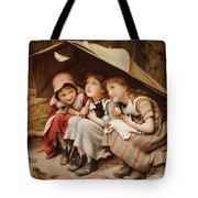 Three Little Kittens Tote Bag