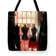 Three Lonely Women Tote Bag