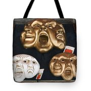 Three Masks For Sale, Venice Tote Bag
