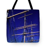 Three Mast Sailing Rig Tote Bag