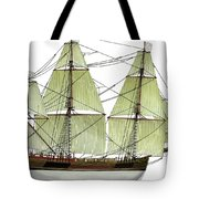 Three Masts Commercial 1760 Tote Bag