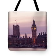 Three Minutes After Sunset Tote Bag