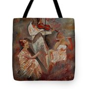 Three Musicians  Tote Bag