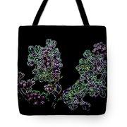 Three Neon Lilacs Tote Bag