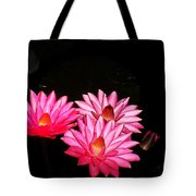 Three Night Lilies  Tote Bag