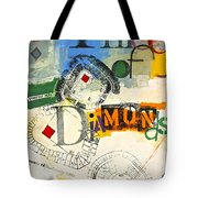 Three Of Diamonds 31-52 Tote Bag