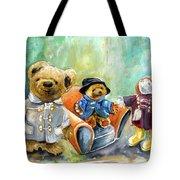 Three Paddingtons At Newby Hall Tote Bag
