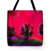 Three Palms II Tote Bag
