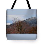 Three Peaks In Winter Tote Bag