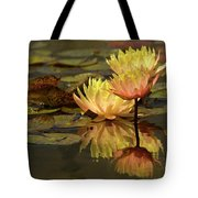 Three Perfect Lilies Tote Bag