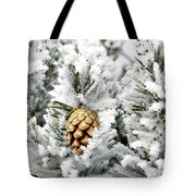 Three Pinecones Tote Bag