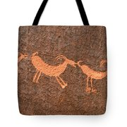 Three Playful Sheep Tote Bag