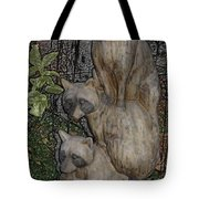 Three Raccoons Tote Bag