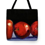 Three Reds Tote Bag