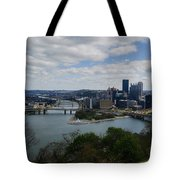 Three Rivers Tote Bag