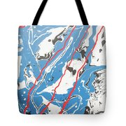 Three Roads And Four Islands Tote Bag