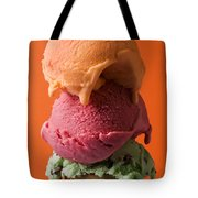 Three Scoops  Tote Bag by Garry Gay