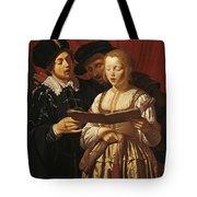 Three Singers Tote Bag