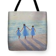 Three Sisters Beach Tote Bag