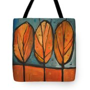 Three Sisters Fall Tote Bag