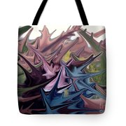 Three Sisters In Sedona Tote Bag