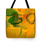 Three Sisters With Autum's Child  Tote Bag