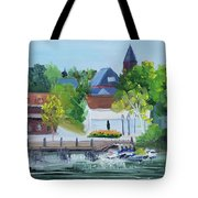 Three Spires Tote Bag