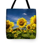 Three Suns Tote Bag by Ron Pate