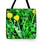 Three Tenders Tote Bag