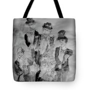 Three Tenors And A Pianist Tote Bag