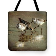 Three Together Tote Bag