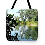 Three Toronto Swans  Tote Bag