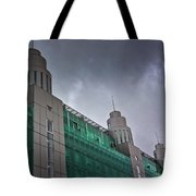 Three Towers In Tallinn Tote Bag