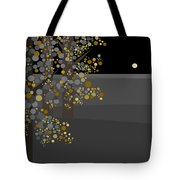 Three Trees In The Moonlight Tote Bag