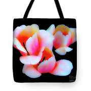 Three Tulips Tote Bag
