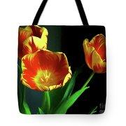 Three Tulips Photo Art Tote Bag