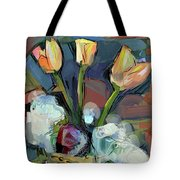 Three Tulips Tote Bag