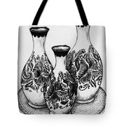 Three Vases Tote Bag