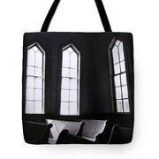 Three Window Church Tote Bag