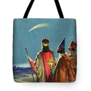 Three Wise Men Tote Bag by English School