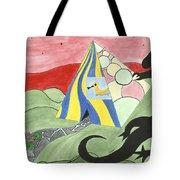 Three Wise Swans  Tote Bag