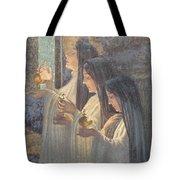 Three Wise Virgins Tote Bag