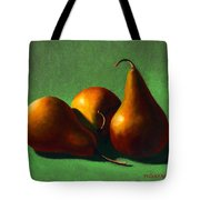 Three Yellow Pears Tote Bag