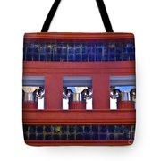 Threereflective Columns Tote Bag