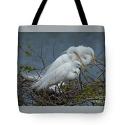 Three's Not A Crowd Tote Bag