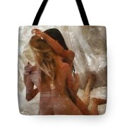 Threesome By Mary Bassett Tote Bag