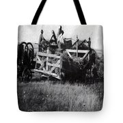 Threshing Day Tote Bag