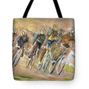 Thrill Of The Chase Tote Bag